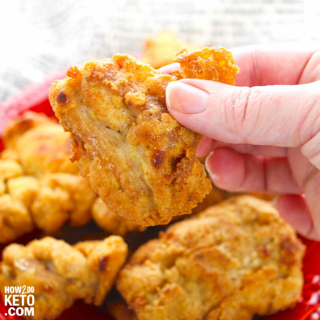 A deliciously crispy (and guilt-free) copycat version of KFC chicken tenders.