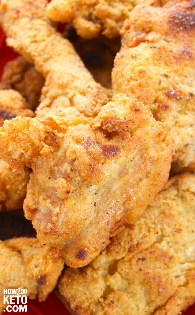 How to make keto-friendly chicken strips
