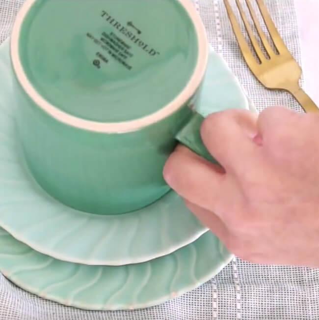 making a keto mug cake