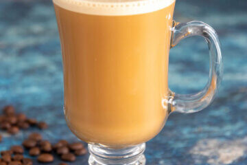 You've never had a coffee like this! Unbelievably rich and creamy, this Keto Bulletproof Coffee Recipe will be your go-to pick me up! Only 3 ingredients and ZERO carbs!