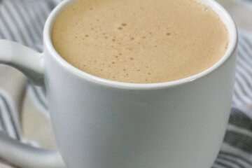 You've never had a coffee like this! Unbelievably rich and creamy, this Keto Bulletproof Coffee Recipe will be your go-to pick me up!
