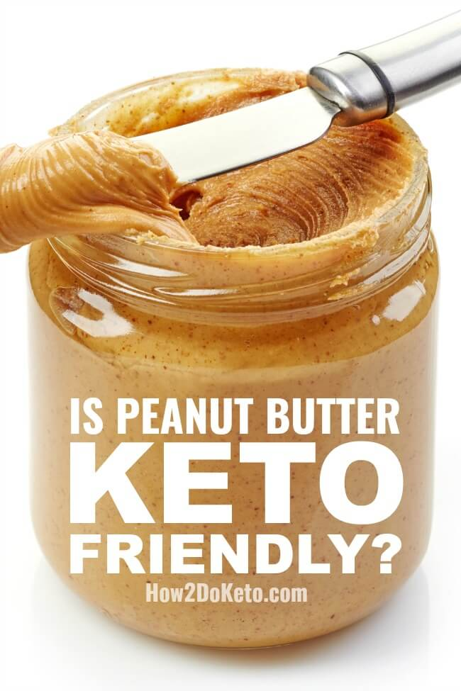 Can you eat peanut butter on the keto diet? We're breaking down peanut butter nutrition facts and answering the most common questions about peanut butter and low carb diets to decide if peanut butter is keto-friendly or not.