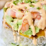 A low carb version of one of our all-time favorite recipes, these Spicy Keto Shrimp Stacks are ridiculously flavorful!