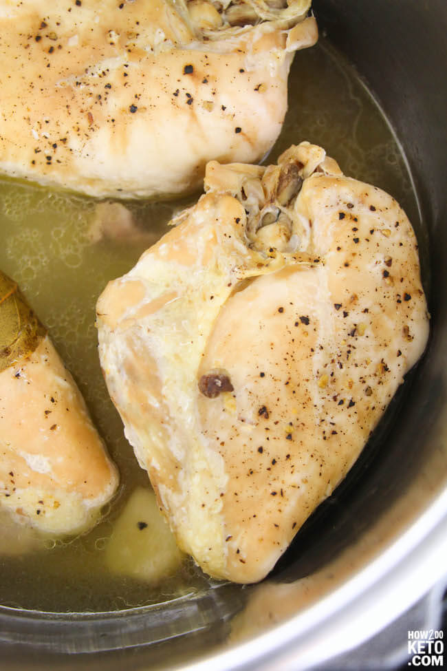 how to cook chicken in the Instant Pot