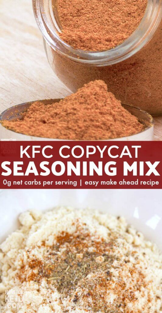 This Copycat KFC Seasoning Recipe takes any chicken recipe from average to amazing!
