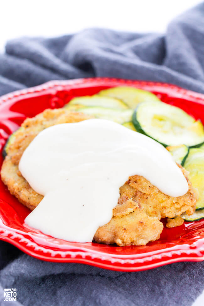 A comfort food classic done low-carb! Keto Chicken Fried Steak is a home-cooked favorite and now you can enjoy it guilt-free!