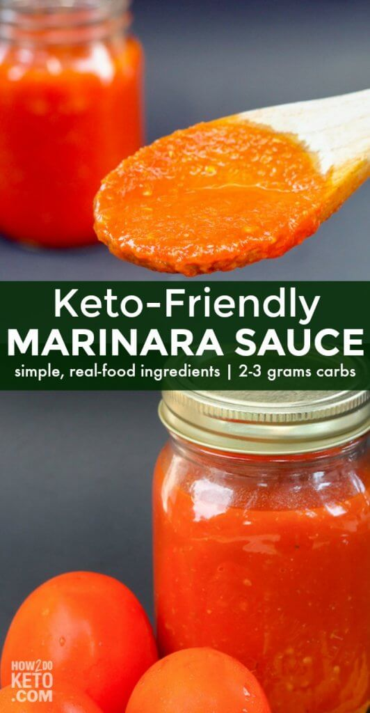 This Low Carb Tomato Sauce is super flavorful, restaurant-quality marinara-style sauce. It's easy to make at home with only a few simple, real-food ingredients!