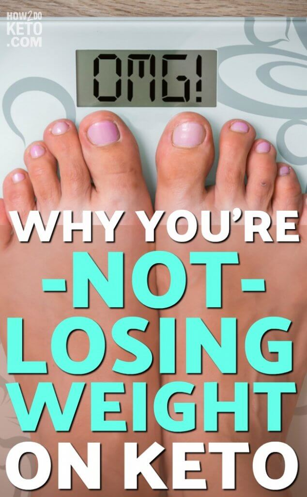 Are you unintentionally sabotaging your weight loss efforts?? If you're not losing weight on keto, keep reading to learn eight things to watch out for!