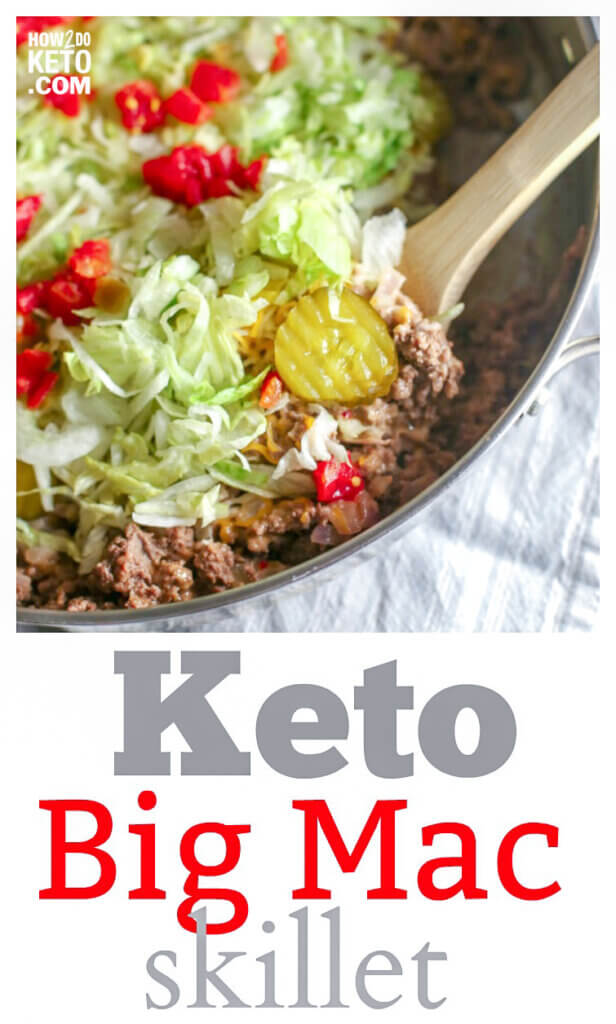 Fast-food gone guilt-free! This Keto Big Mac Salad packs all the flavor of your favorite burger, without all the carbs!