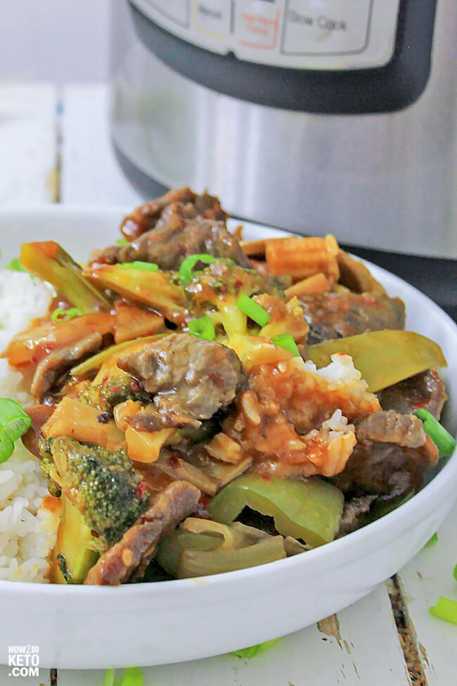 Our Keto Beef and Broccoli Stir-Fry has all the flavor of your favorite takeout dish, without all the carbs!
