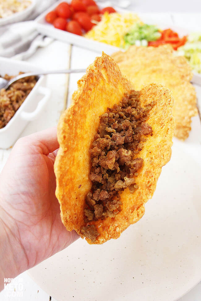 With our deliciously crunchy and cheesy Keto Taco Shells, Taco Tuesday is better than ever!