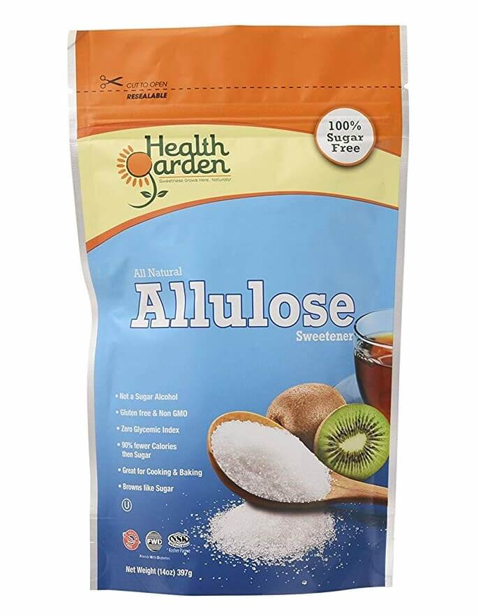 Allulose low carb sweetener