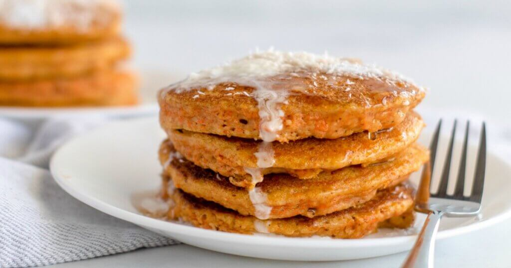 You'll never miss the carbs when you make these deliciously decadentCarrot Cake Keto Pancakes!Packed with veggies, protein, and good fats, these keto carrot pancakes are the perfect way to start your day!