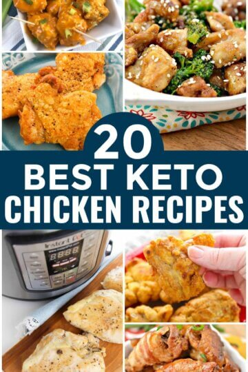 A huge collection of delicious low carb chicken recipes for all occasions! If you are looking for amazing keto chicken recipes, you've come to the right place!