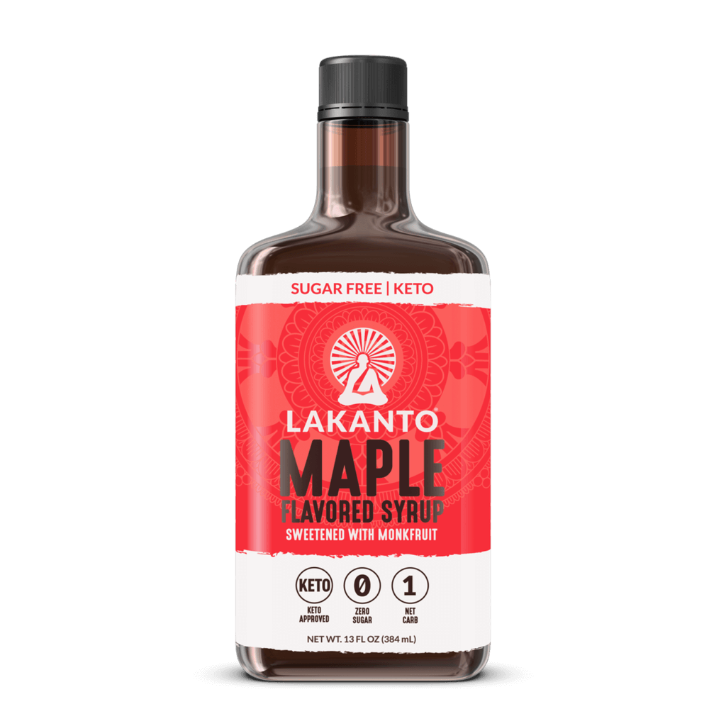 Lakanto maple flavored syrup - keto sweeteners