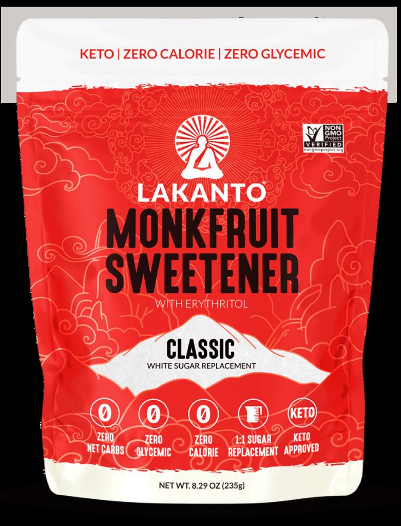 Lakanto monkfruit sweetener - keto sweetener