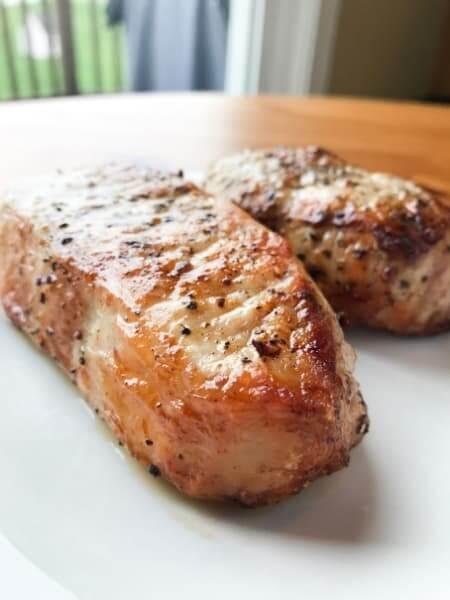 Keto Air Fryer Recipes: pork chops