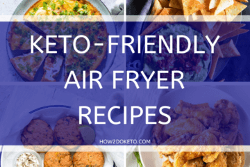 Eating healthy has never been easier! Get a keto-friendly dinner on the table in minutes with these easy keto air fryer recipes!