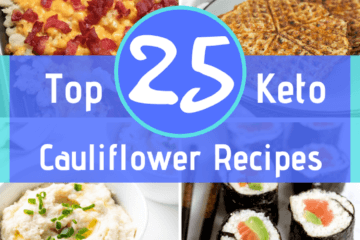 Who says cauliflower has to be boring?! These Keto Cauliflower Recipes are truly delicious and taste so spot-on that you won't even miss all the carbs!