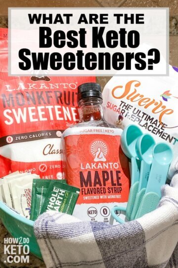 All sugar substitutes are not created alike! We've got the breakdown on the best keto sweeteners -- learn which low carb sweeteners taste the best, are the best value, and don't have side effects. Plus, which sugar alternatives to avoid!
