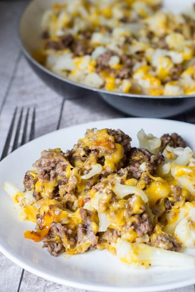 keto casserole with beef and cheese