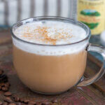 Kick your day into gear with this delicious Keto Vanilla Latte recipe! This low carb latte is so rich and creamy that it tastes like a decadent coffee shop drink, but there are less than 1g net carbs in each cup!