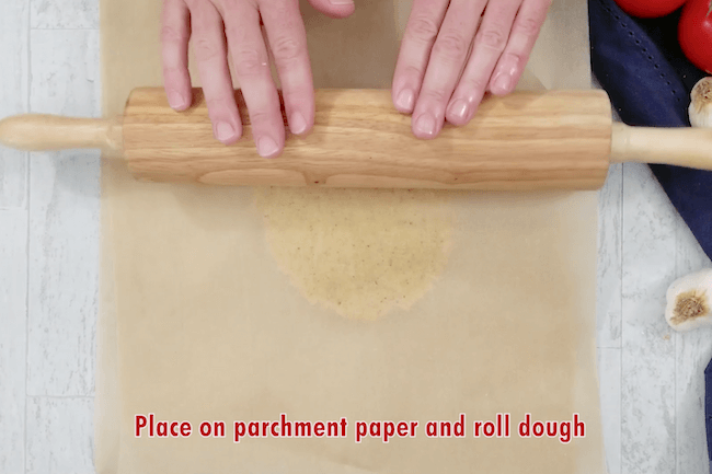 rolling keto fathead dough