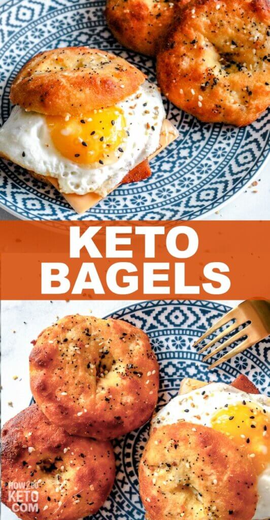 perfectly chewy keto bagel recipe