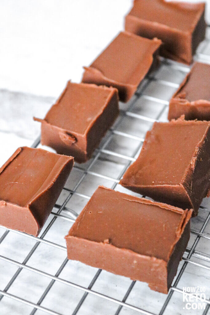 Rich and delicious, this Keto Fudge will have your sweet tooth begging for more!