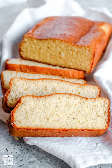 Ditch the carbs with this Keto Bread Recipe, and have all the sandwiches you love!