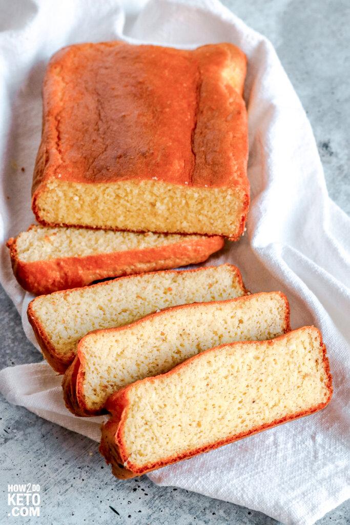 sliced low carb sandwich bread