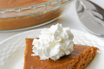 keto friendly crustless pumpkin pie
