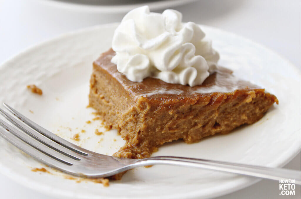 Pumpkin pie is a classic fall dessert and with ourKeto Pumpkin Pie, you can freely indulge while keeping a keto diet!