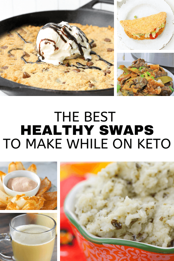 Start the new year eating healthier with these delicious healthy swaps!