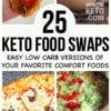 keto versions of comfort food recipes