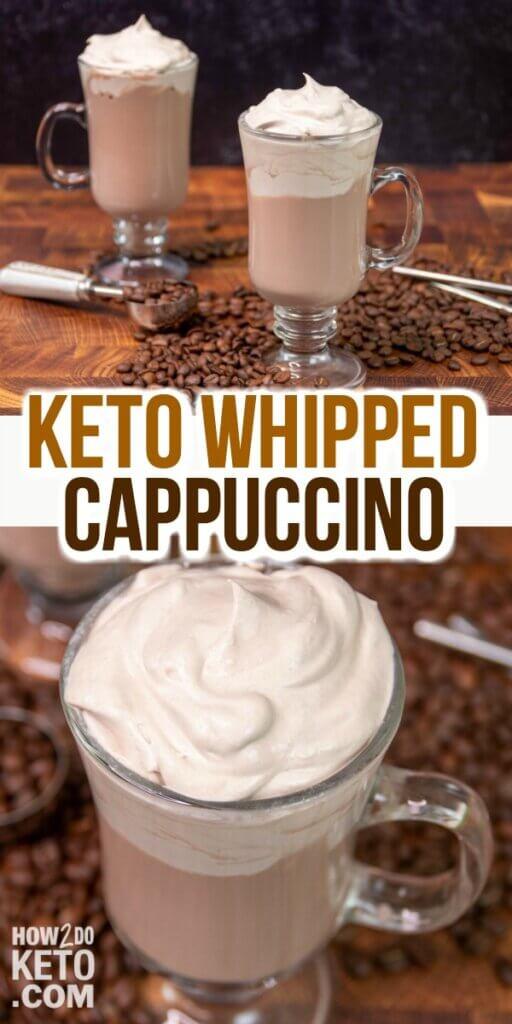whipped keto cappuccino