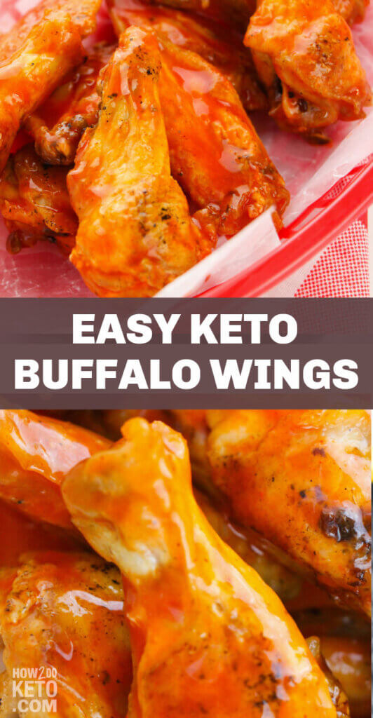 From game day to weekday, these Keto Buffalo Wings are a top tier party food in a keto-friendly form!