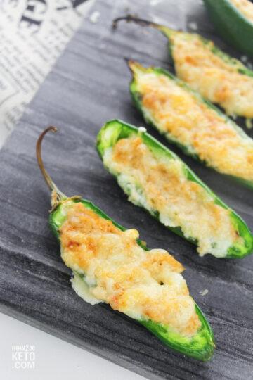 low carb jalapeño poppers