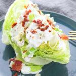 homemade wedge salad