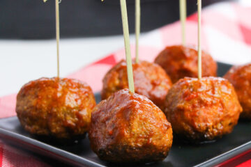 keto bbq meatballs made in the crockpot