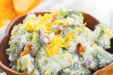 keto friendly broccoli salad