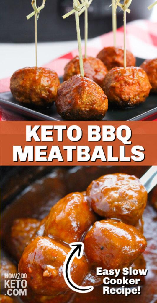 keto bbq meat balls made in crock pot