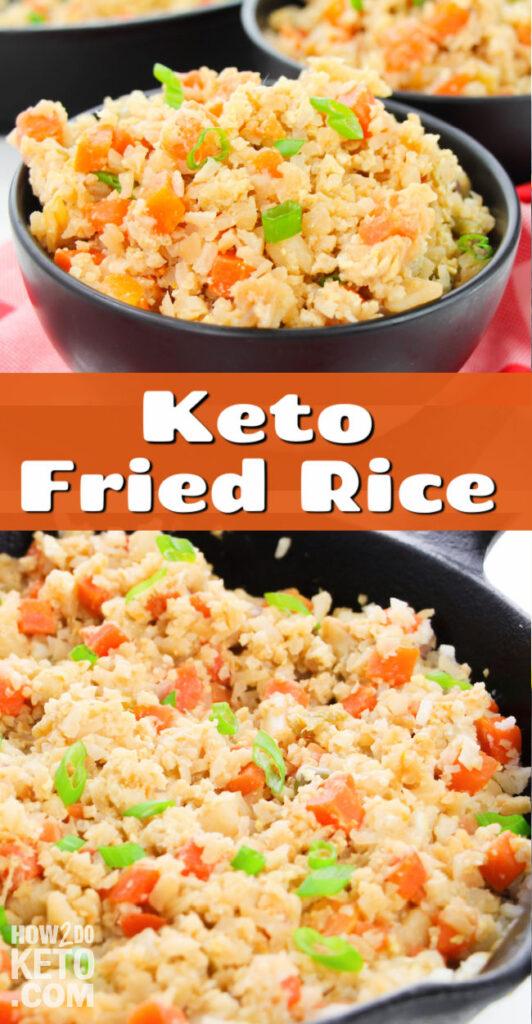 Cauliflower Fried Rice Pinterest Image