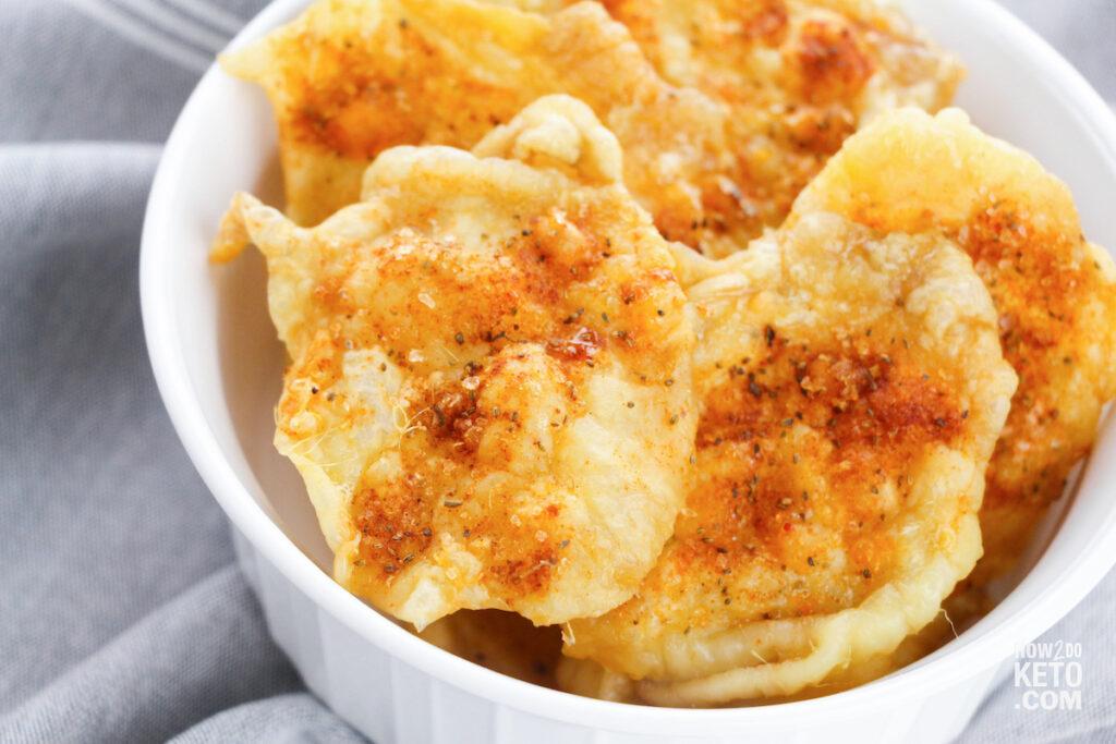 Keto Chicken Skin Chips detail