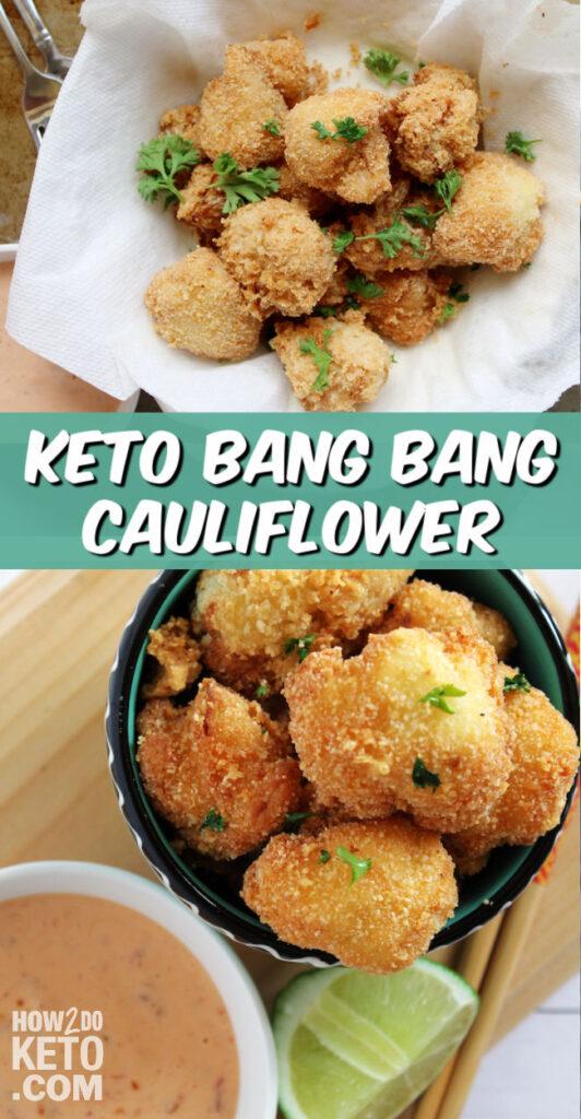 Keto Bang Bang Cauliflower pin