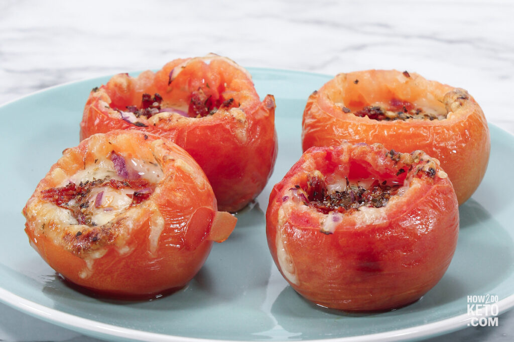 low carb stuffed tomatoes
