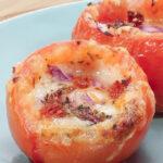 Keto Stuffed Tomatoes