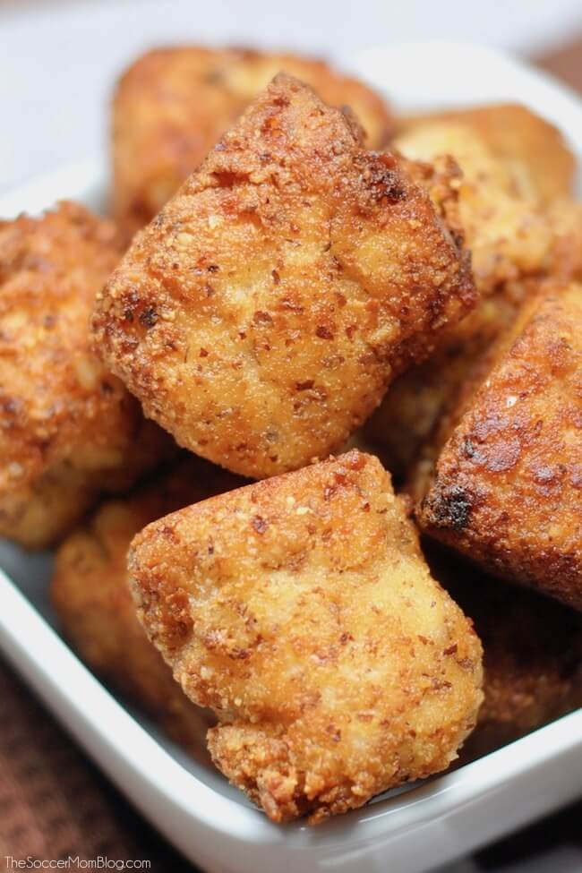 tater tots made with cauliflower