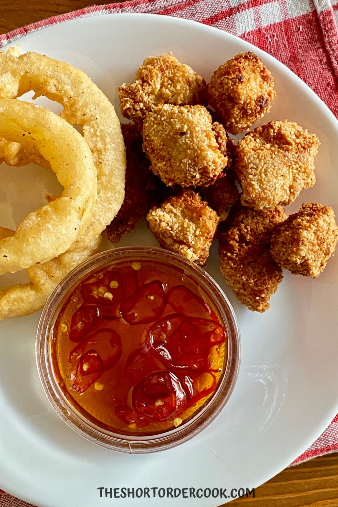 grain free chicken nuggets with dipping sauce