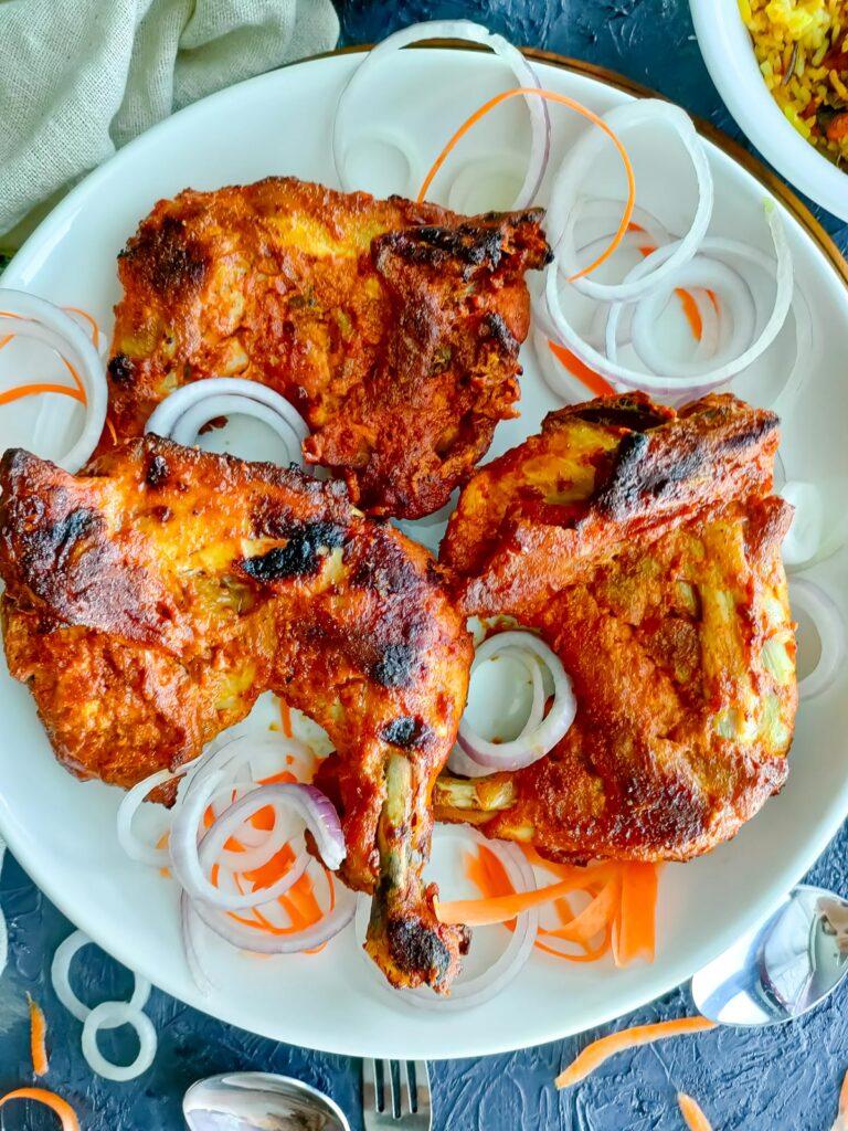roast tandoori chicken legs